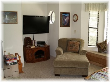 LCD TV in Living Room Photo