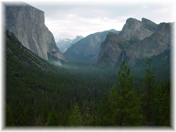 Photo of Yosemite Valley from Hwy. 41