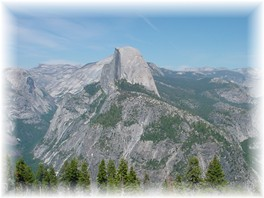 Yosemite Lodging Accommodations, Vacation Rentals Photo of Half Dome