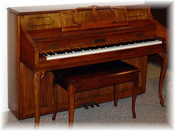 Photo Of Console Piano